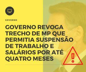 Governo Revoga Trecho De Mp - Contabilidade em Goiânia - GO | Blog - Prime Gestão Contábil